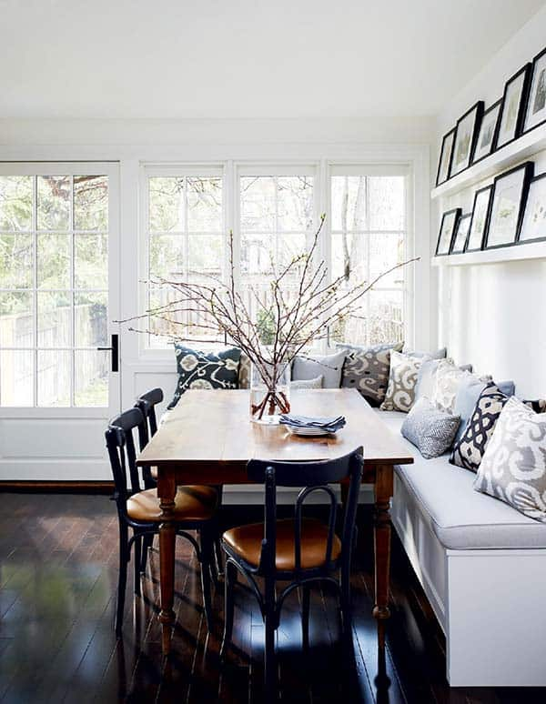 Breakfast Nook Design Ideas-35-1 Kindesign