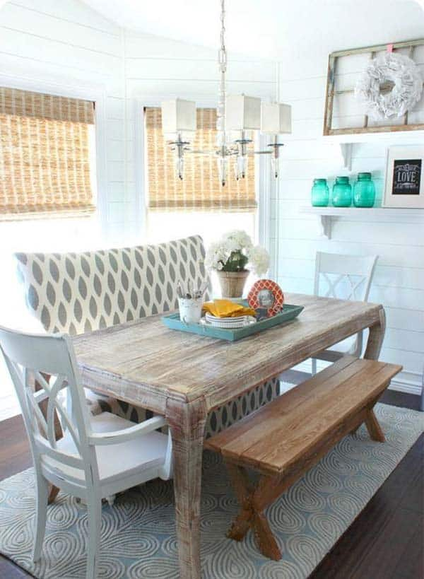Breakfast Nook Design Ideas-36-1 Kindesign