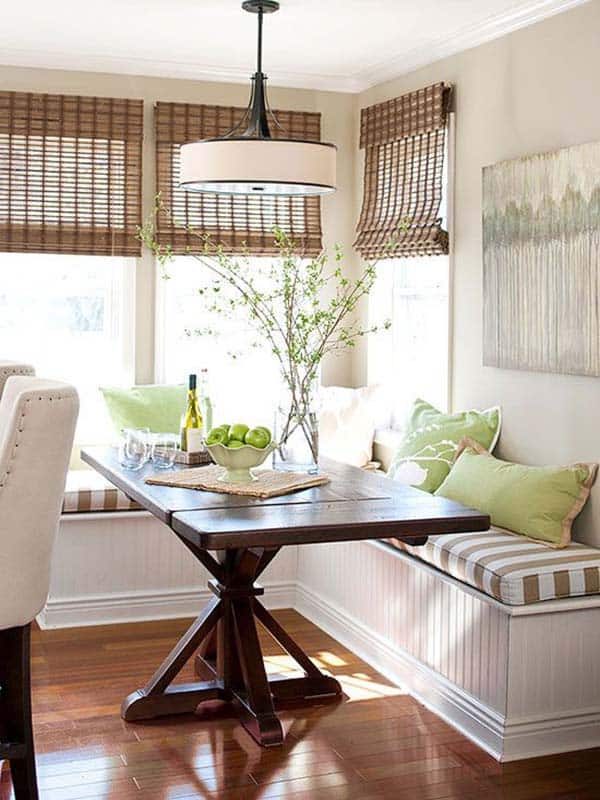 Breakfast Nook Design Ideas-38-1 Kindesign