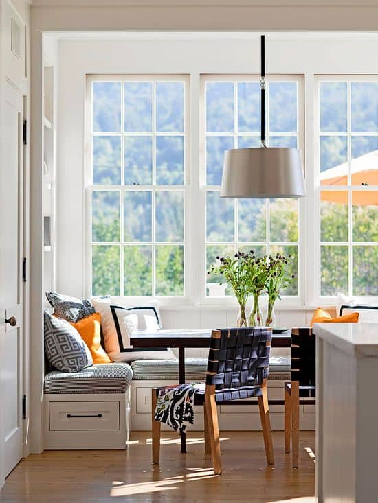 Breakfast Nook Design Ideas-39-1 Kindesign