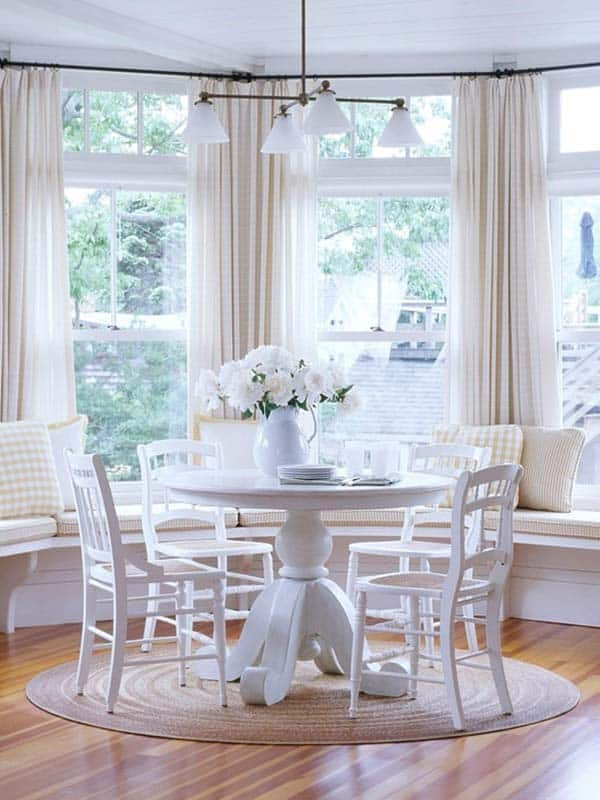 Breakfast Nook Design Ideas-41-1 Kindesign