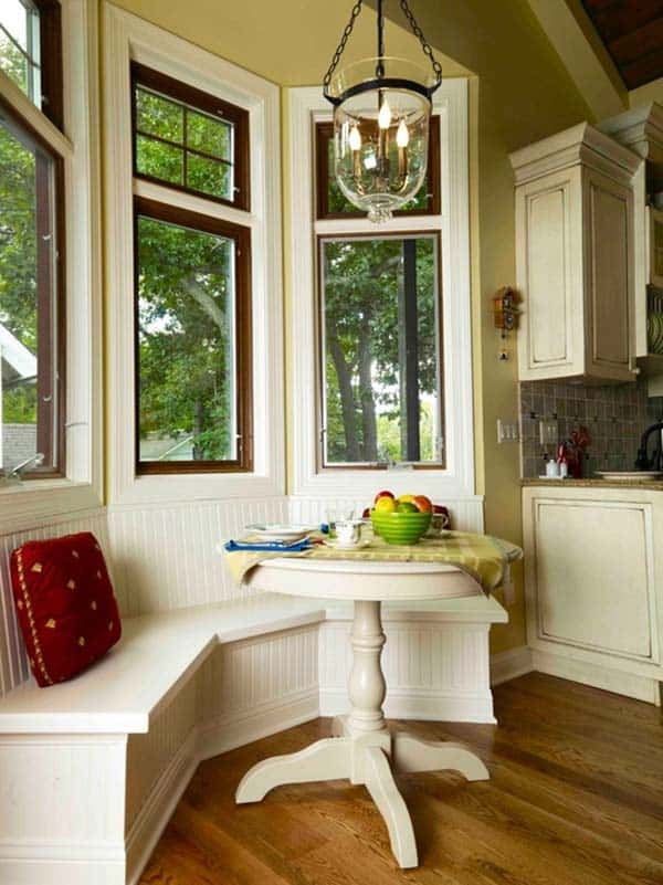 Breakfast Nook Design Ideas-43-1 Kindesign