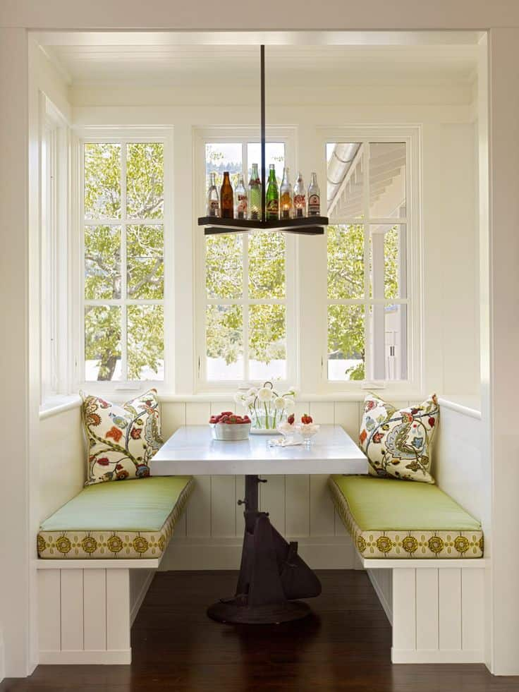 Breakfast Nook Design Ideas-46-1 Kindesign