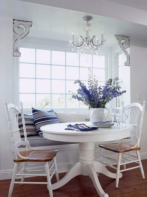 Breakfast Nook Design Ideas-47-1 Kindesign