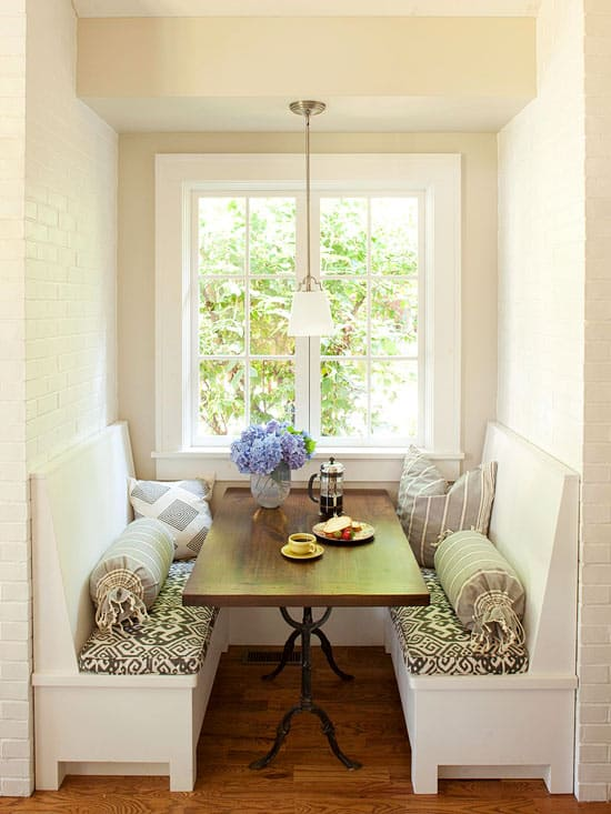 Breakfast Nook Design Ideas-49-1 Kindesign