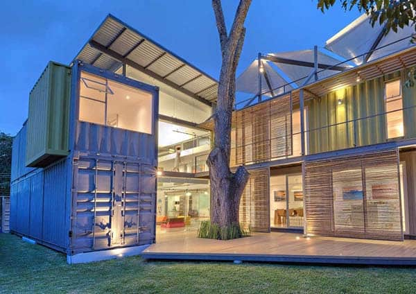 featured posts image for Sustainably designed shipping container home in Costa Rica