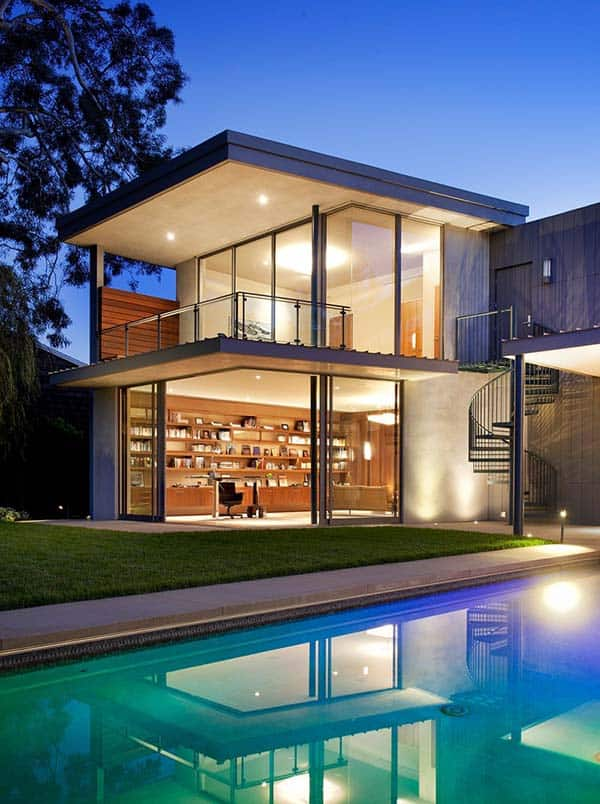featured posts image for Modern dream home designed for a bachelor in California