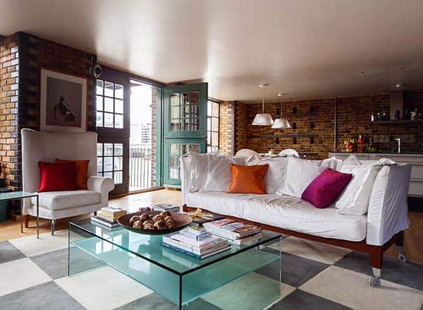 featured posts image for Exquisitely chic vacation home on London's South Bank