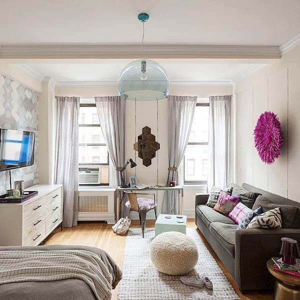 38 Small yet super cozy living room designs