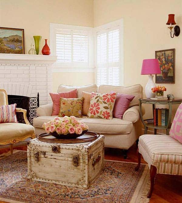 Cozy Apartment Furniture: 38 Small Yet Super Cozy Living Room Designs