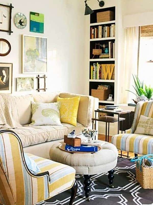 Small Space Living Room: 38 Small Yet Super Cozy Living Room Designs