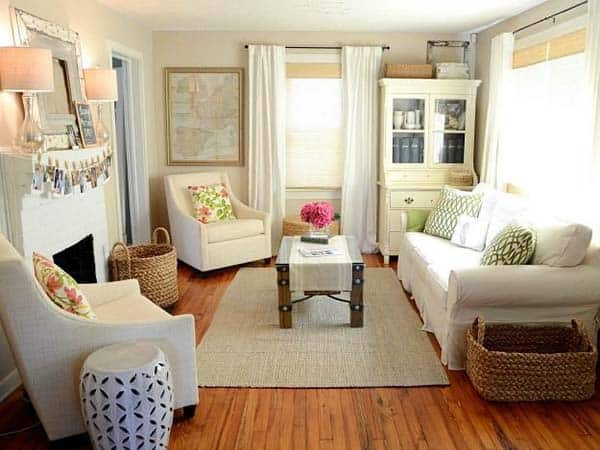 38 small yet super cozy living room designs for Cozy bedroom ideas for small rooms