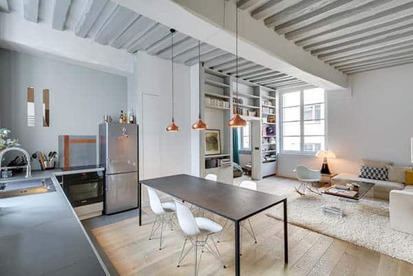 Garconniere Marais Apartment-Tatiana Nicol-05-1 Kindesign