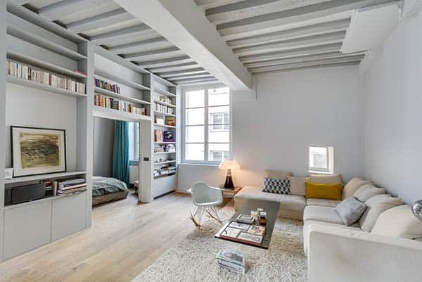 Garconniere Marais Apartment-Tatiana Nicol-10-1 Kindesign