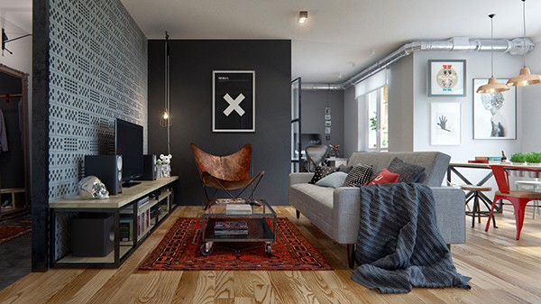featured posts image for Clever design solutions in cozy 69 square meters apartment