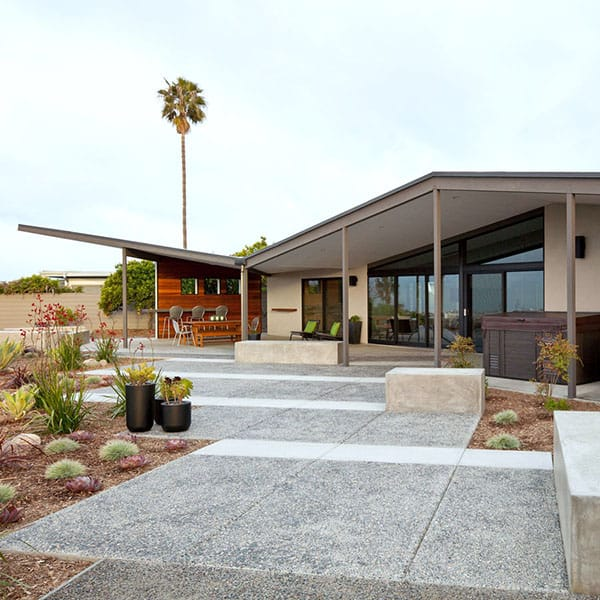 featured posts image for Stunning mid-century modern renovation in San Diego
