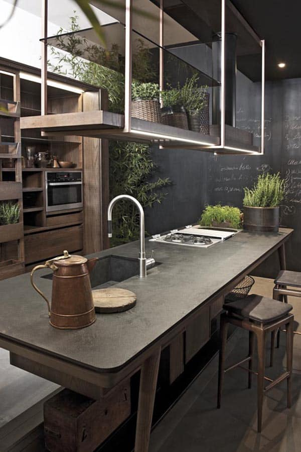 featured posts image for 40 Amazing and stylish kitchens with concrete countertops