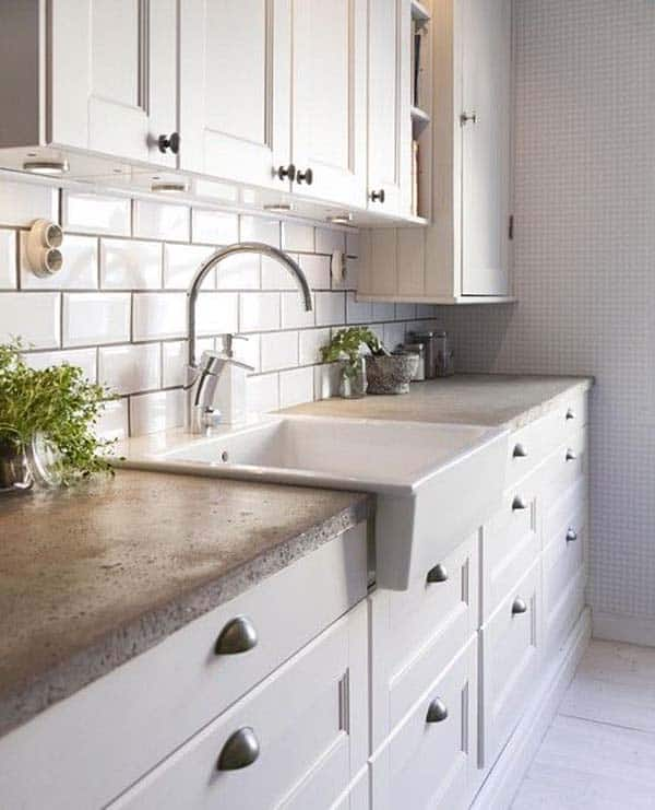 Kitchen Concrete Countertops 20 1 Kindesign