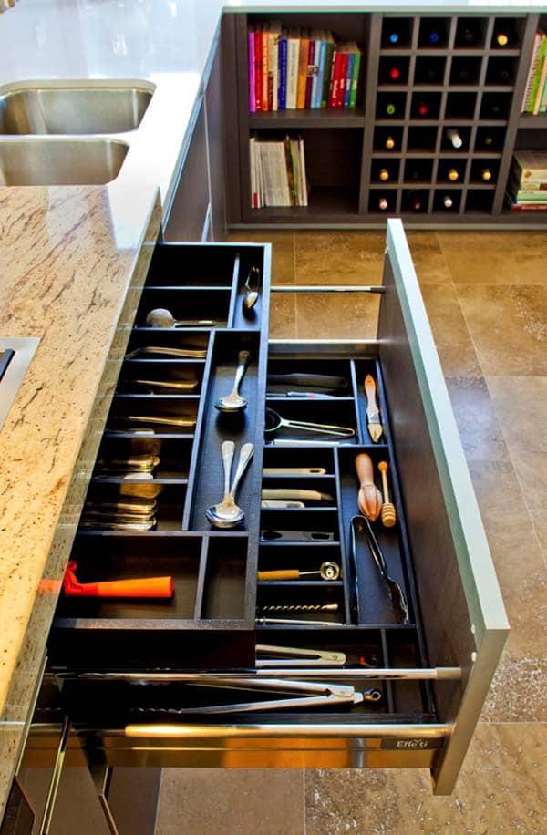 Kitchen Drawer Utensil Storage Ideas