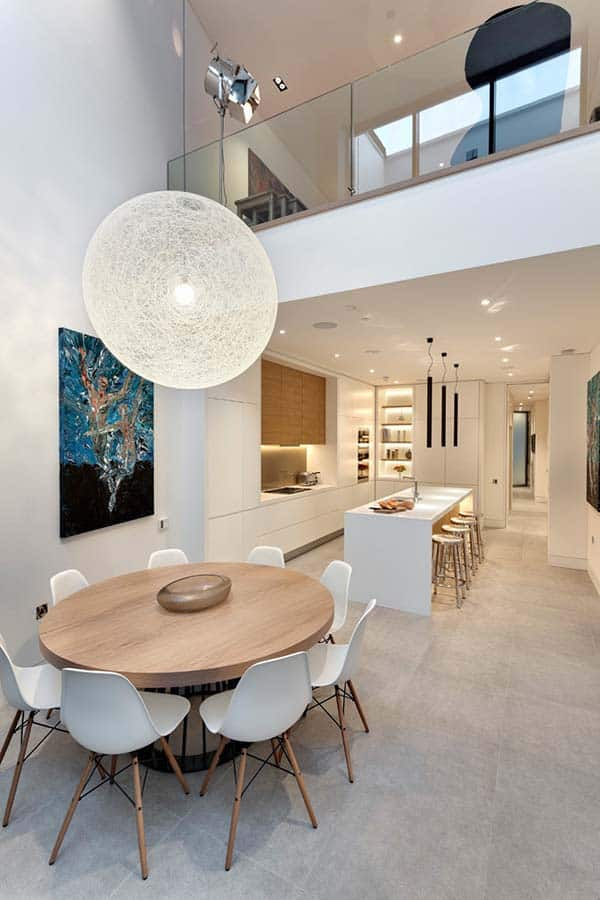 featured posts image for Exceptionally renovated six story terraced house in London
