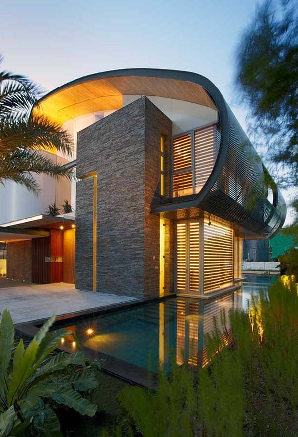 featured posts image for Eco-friendly waterfront house in Singapore: Nautical Lines