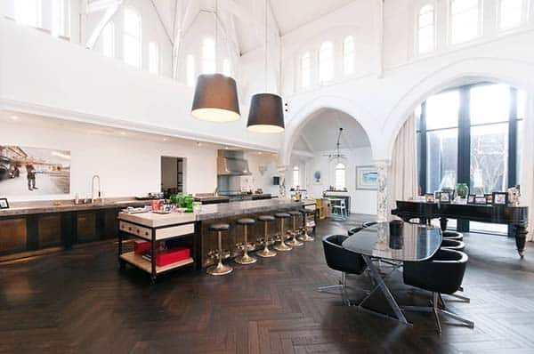 featured posts image for Historic converted church in London with mega-stylish interiors
