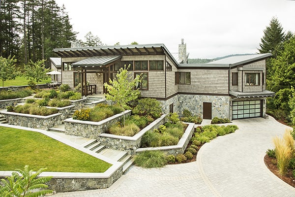 featured posts image for LEED Platinum West Coast Style Home on Prospect Lake
