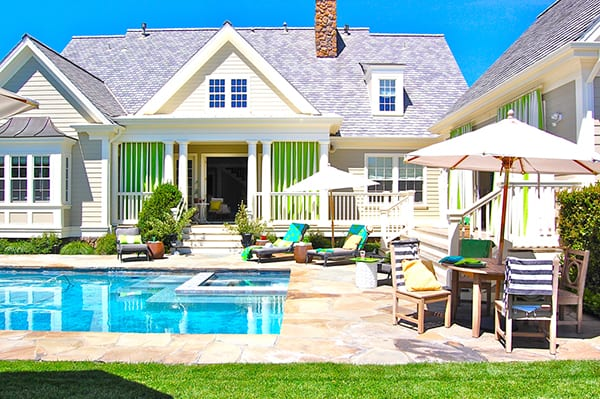 featured posts image for Fresh and colorful cottage retreat in Sonoma, California