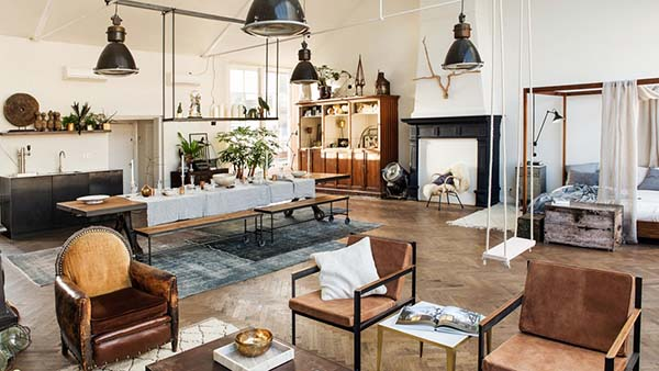 featured posts image for The Loft showcasing inspirational modern details in Amsterdam