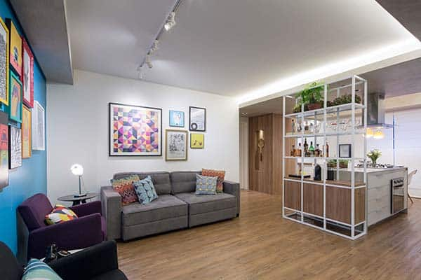 Trama Apartment-Semerene Arquitetura Interior-01-1 Kindesign