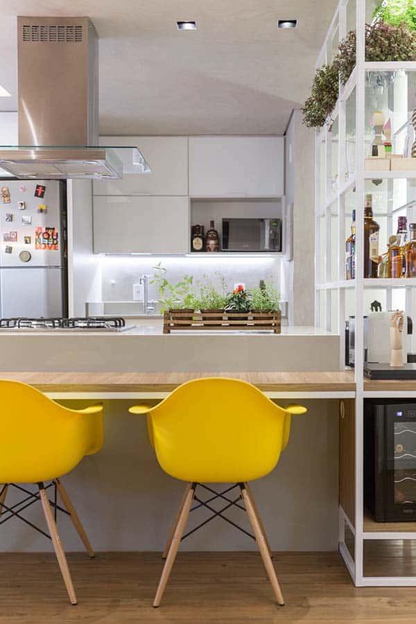 Trama Apartment-Semerene Arquitetura Interior-04-1 Kindesign