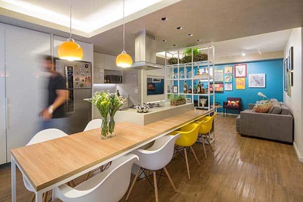 Trama Apartment-Semerene Arquitetura Interior-07-1 Kindesign