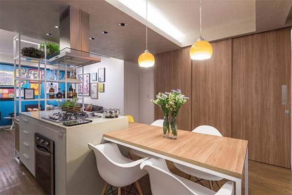 Trama Apartment-Semerene Arquitetura Interior-10-1 Kindesign