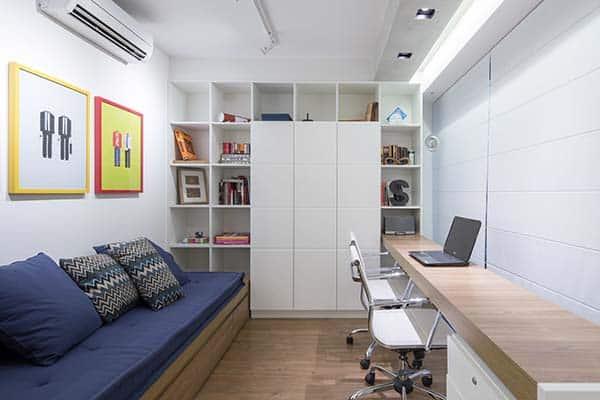 Trama Apartment-Semerene Arquitetura Interior-11-1 Kindesign