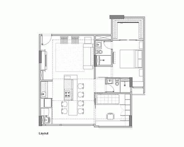 Trama Apartment-Semerene Arquitetura Interior-21-1 Kindesign