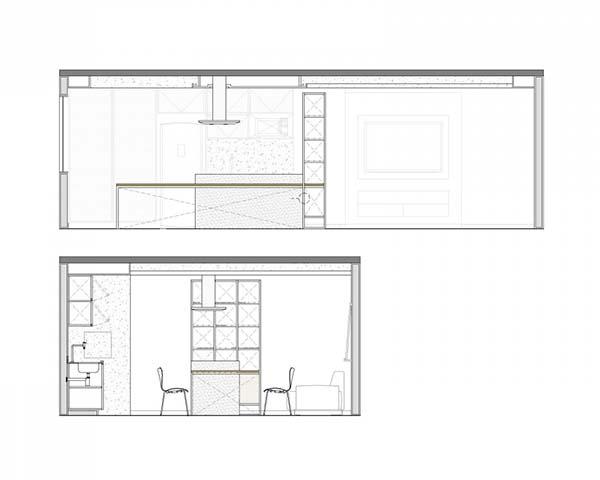 Trama Apartment-Semerene Arquitetura Interior-22-1 Kindesign