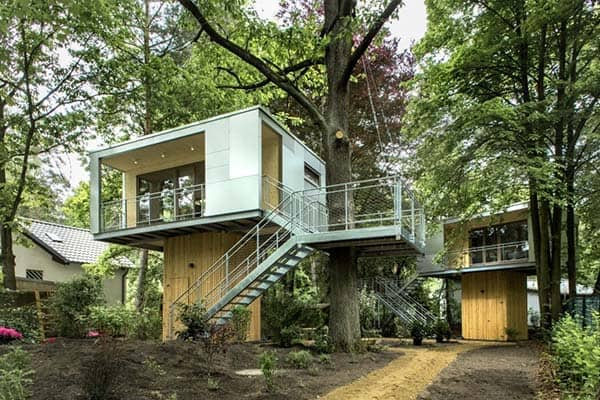 featured posts image for Fascinating Urban Treehouse surrounded by nature in Berlin
