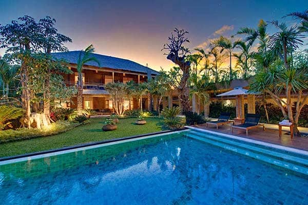 featured posts image for Thatched roof luxury vacation retreat in Bali: Villa Kinara