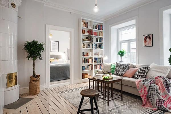 Amazing Swedish Apartment-01-1 Kindesign