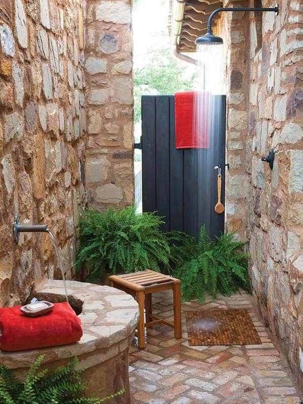 47 awesome outdoor bathrooms leaving you feeling refreshed - Outdoor Bathroom