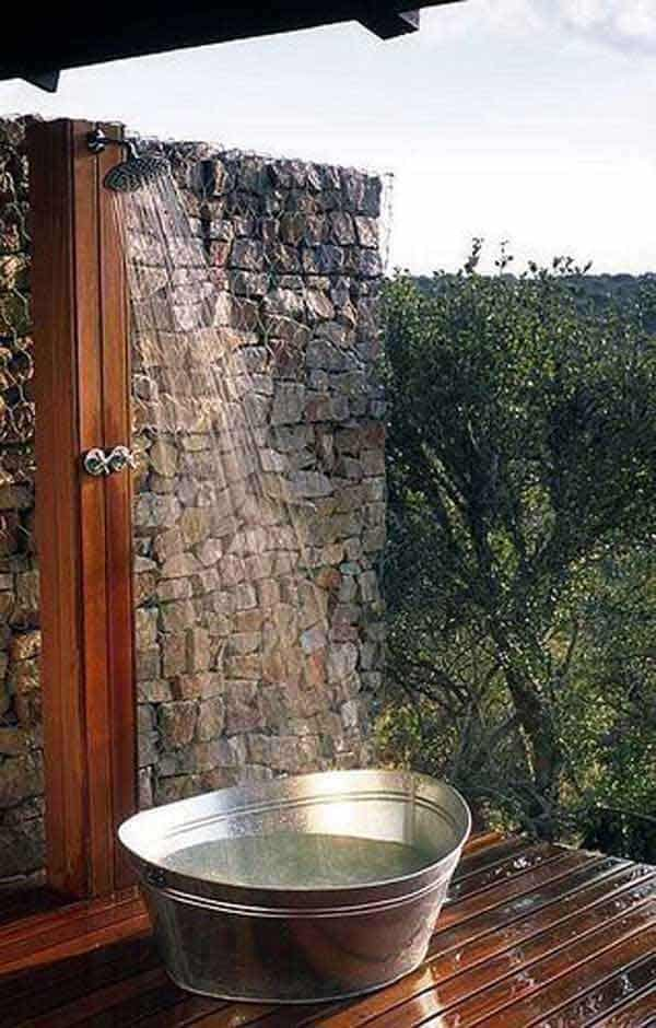 Awesome Outdoor Bathrooms-20-1 Kindesign