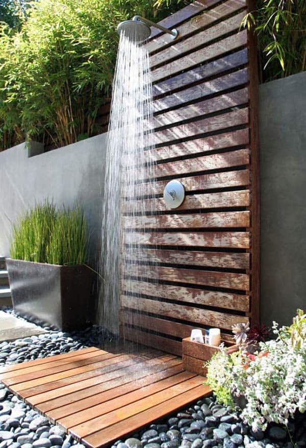 awesome outdoor bathrooms 28 1 kindesign - Outdoor Bathroom