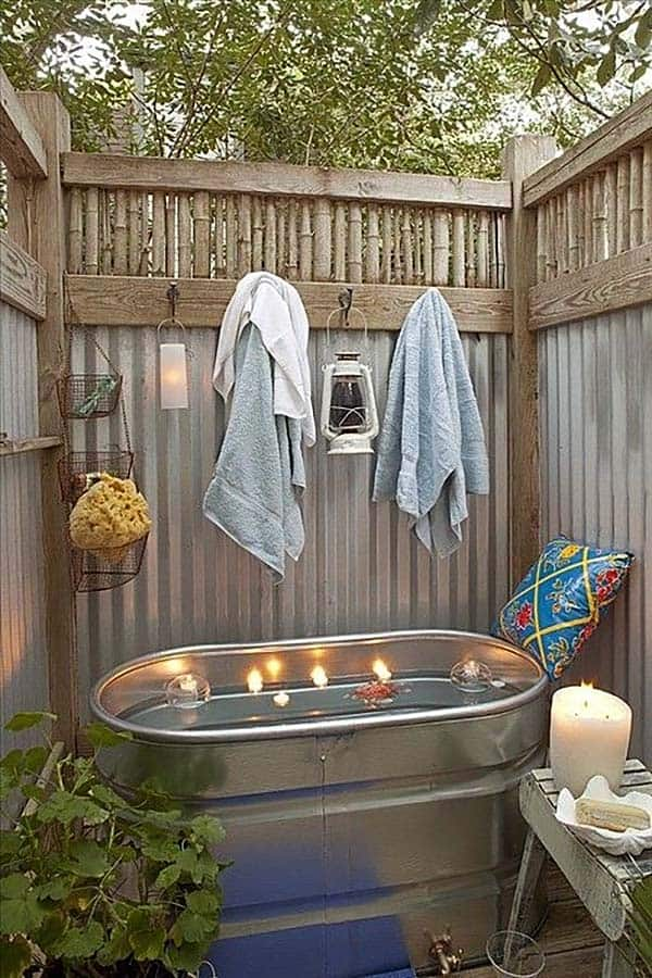 awesome outdoor bathrooms 44 1 kindesign - Outdoor Bathroom