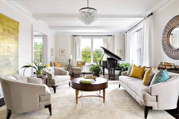 featured posts image for Upper West Side apartment dressed in opulent sophistication