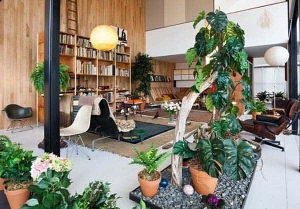 Decorated Spaces With Plants-04-1 Kindesign
