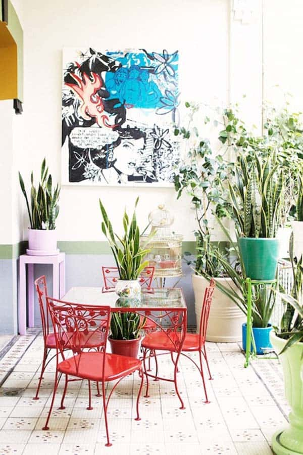 Decorated Spaces With Plants-18-1 Kindesign