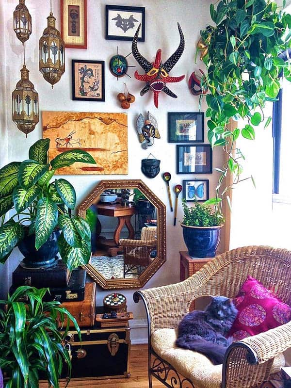 Decorated Spaces With Plants-25-1 Kindesign