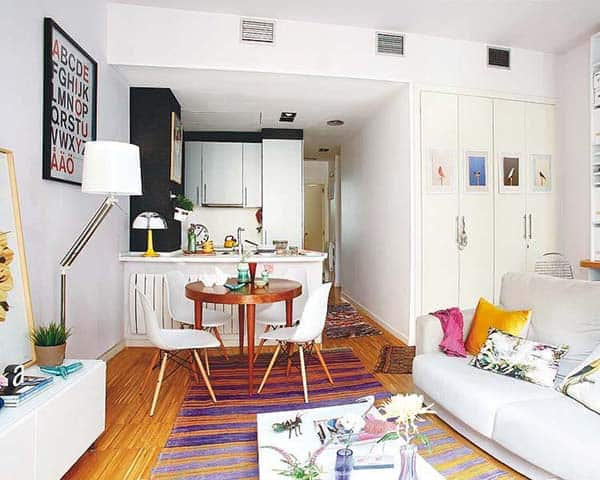 Eclectic Madrid Apartment-06-1 Kindesign