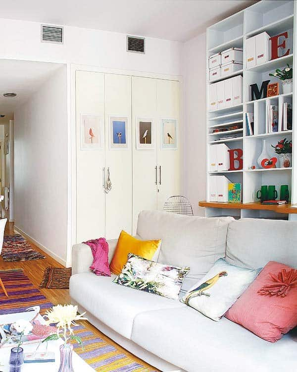 Eclectic Madrid Apartment-07-1 Kindesign