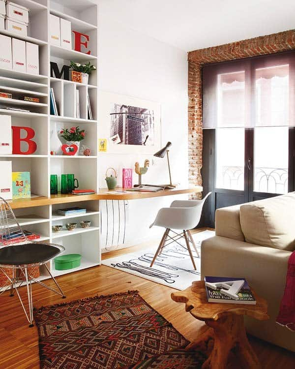 Eclectic Madrid Apartment-09-1 Kindesign